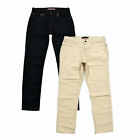 Tommy Hilfiger Jeans Mens Slim Fit Denim Pants Casual Rinsed Stonewashed New Th