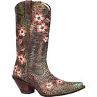 RD3564 Crush by Durango Women's Floral Embroidered Western Boot NEW