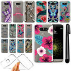 For LG G5 H850 VS987 Ultra Thin Clear Soft Silicone Gel TPU Case Cover + Pen