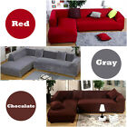 New Modern Design L Shape 2+2/ 2+3/ 3+3 Seats Stretch Elastic Fabric Sofa Cover