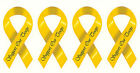 Ceramic Decals SUPPORT OUR TROOPS Yellow Ribbon image