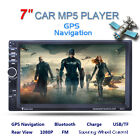 """7021G 7"""" HD Touch Screen Car Stereo Radio 2DIN FM/MP5/MP3/USB/AUX Player Lot EB"""