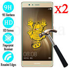 2PCS Premium Real Screen Protector Tempered Glass Film For Huawei P9 / P9 Lite