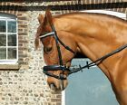 Heritage English Leather Crystal 'Comfort' Bridle With Flash Noseband inc Reins