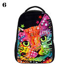 Colorful Cat Personalized Boy Girl Schoolbags Casual Backpack Book Bag Mochila
