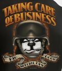 Taking Care Business Special Ops Big Dogs Tee Shirt Large XLarge 5X Black Cotton