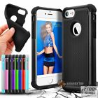 For Apple iPhone 7/7 plus Case Silicone Rubber New Shockproof Hybrid Cover Skin