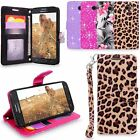 For Samsung Galaxy J3 Prime Emerge 2017 Leather Wallet Flip Stand New Case Cover