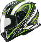 Gmax FF49 Warp Full Face Street Helmet White/Green