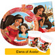 Disney Princess ELENA OF AVALOR Birthday Party Tableware Balloons & Decorations