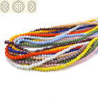 200pcs #5040 4mm Flat oval crystals beads loose ball beads DIY Jewelry Making