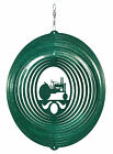 SWEN Products TRACTOR CIRCLE Swirly Metal Wind Spinner