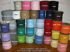 """10 Yards EXTRA WIDE 1/2"""" Double Fold Bias Tape **33 COLORS** Wholesale"""
