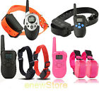 Rechargeable 2 Dogs LCD Shock&Vibrate Remote Dog Pet Training Collar