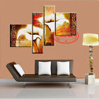P859 Hand-painted Set Flowers Oil Painting Lily wall decor Art /NO Frame