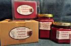 Hand Poured Fall Scents Soy Candles, Tarts & Votives - Wisconsin Cranberry Fest