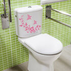 Butterfly Flower Wall Sticker Bathroom Toilet Decal Stickers Home Decor