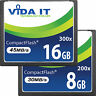 Vida 8GB-16GB Compact Flash CF Memory Card UDMA For SLR Camera NEW Super Fast