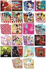 20 PARTY NAPKINS - Range of LICENSED CHARACTER DESIGNS (Birthday Supplies){SetB}