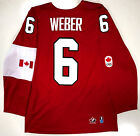 SHEA WEBER TEAM CANADA HOCKEY 2014 OLYMPICS GOLD MEDAL NIKE JERSEY NEW W TAGS