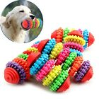 Lovely Pet Dog Puppy Dental Teething Healthy Teeth Gums Chew Rubber Toy Tools