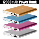 Universal Power Bank 12000mAh External Portable Battery Charger For Cell Phone