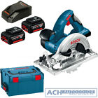 Bosch Cordless Circular Saw GKS 18 V-LI 2 x 5,0 Ah Battery in L-Box Charger