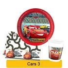 CARS 3 NEW Birthday PARTY Tableware Balloons Decorations Supplies (QUALATEX)