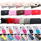 Fashion Women Leather Clutch Wallet Long Card Holder Purse Coin Case Zip Handbag