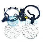 New 2017 MAGURA MT2 Light-weight Hydraulic Disc Brake pair set with Rotors