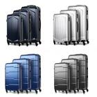 "3PCS Spinner Luggage Set Hard Shell 20"" 24"" 28"" ABS + PC W/Combination Lock L4O3"