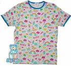 BIG TOTS  SMILES & baby things Adult size snap shoulder baby SHIRT