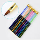 Painting Gradient Brush Pen UV Gel Liner Cat Eye Rhinestone Handle Manicure Tool
