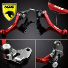 MZS Pivot Brake Clutch Levers For Honda CR125R/CR250R CRF450X CRF250X US Ship