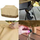 """BBQ Grill Cover 58""""Gas Barbecue Heavy Duty Waterproof Outdoor Weber Beige/Black"""