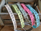 Berisfords Couture Collection - TREES Ribbon - 15mm - 5 Shades,various lengths