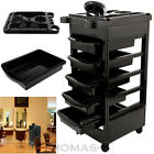 Beauty Salon Hairdresser TROLLEY Barber Hair Storage Coloring Cart Spa 5 DRAWERS