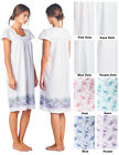 Casual Nights Women's Floral Lace Cap Sleeves Nightgown Sleep Dress