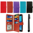 "For Samsung Galaxy J7 2017/ J7V J727 5.5"" PU Leather Wallet Cover TPU Case + Pen"