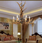Hot Sell Candle Antler Chandelier Resin Deer Horn Lamps Home Decoration Lighting