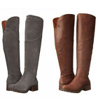 Lucky Brand Womens Harleen Over The Knee Side Zip Casual Tall Riding Boots