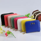 WOMEN'S MINI FAUX LEATHER LADY PURSE WALLET CARD HOLDERS HANDBAG GOOD BLUELANS