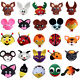 Newest Party Dress Up Cosplay Headdress Cartoon Animal Hat Kids Stage Show Cap