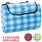 Andes 200cm x 200cm Waterproof Backed Picnic Camping Blanket Travel Rug