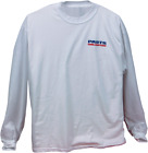 Parts Unlimited Parts Unlimited Long Sleeve T- Shirt White