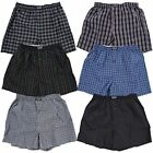 Kyпить Lot 3-12 Mens Boxers Plaid Check Shorts Underwear Briefs Cotton Trunk Size S-4XL на еВаy.соm
