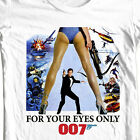 James Bond T-shirt 007 For Your Eyes Only retro vintage 1970's movie tee shirt $25.19 CAD