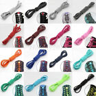 Shoelaces Elastic Round Shoe Laces Trendy Sneakers Quick Locking Shoestrings HY