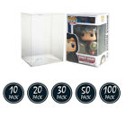 """Funko Pop! Box Protector Boxes For 4"""" Vinyl Figures Crystal Clear Cases"""