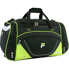 Fila Acer Large Sport Duffel Bag 4 Colors Gym Duffel NEW